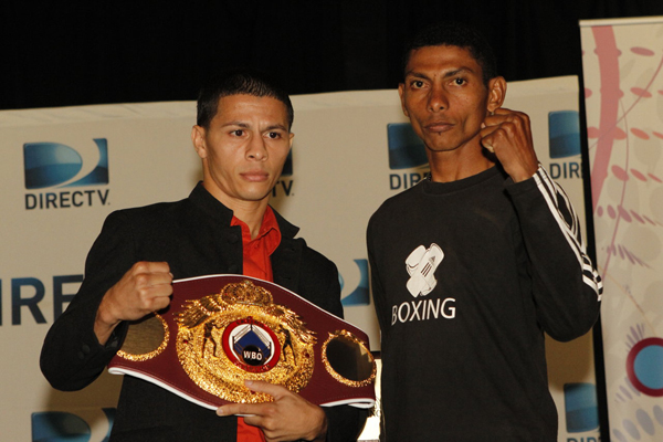24 sept 2012 Press Conference Noche de Campeones DIRECTV from Puerto Rico- Arroyo vs Ramos 2