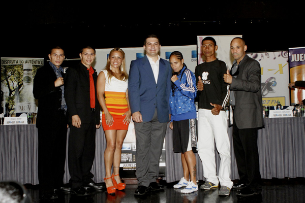 24 sept 2012 Press Conference Noche de Campeones DIRECTV from Puerto Rico