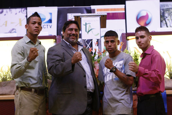 4 sept 2012 Press Conference A Puño Limpio in Trujillo Alto- Mayor Cruz and Trujillo Alto fighters 2